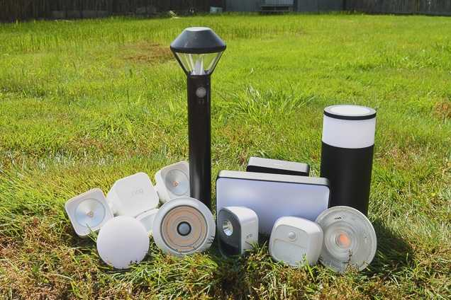 a variety of types about landscape lights