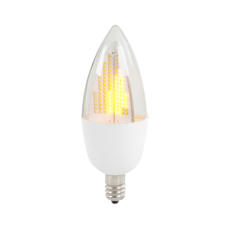 Flicker Flame Bulb 3002C White Base